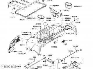 Kawasaki Kaf620-rbfa Mule4010 2011 Usa / Trans4x4 parts