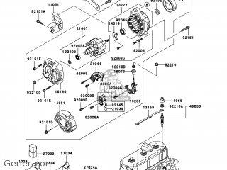 Kawasaki KAF950-D8F MULE3010 2008 USA / DIESEL 4X4 parts