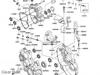 Kawasaki KAF950-FCF MULE4010 2012 USA / DIESEL 4X4 parts