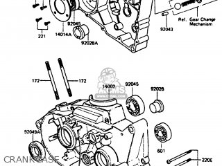 Kawasaki Kc100c5 1987 Usa parts list partsmanual partsfiche