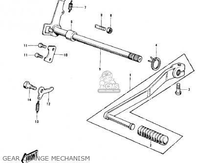 Kawasaki KD100-M3 1977 CANADA parts lists and schematics
