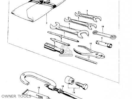 Kawasaki Kd80 Kd80 1975 parts list partsmanual partsfiche
