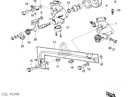 Kawasaki Kd80-m1 Kd80 1980 parts list partsmanual partsfiche