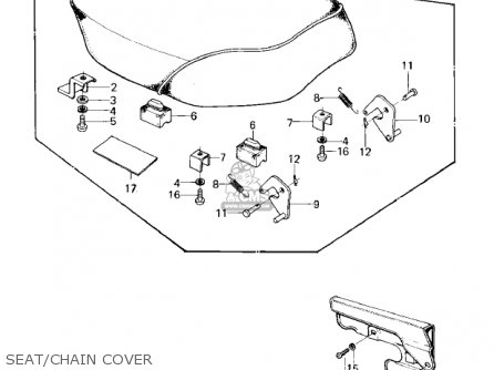 Kawasaki KD80-M2 KD80 1981 parts lists and schematics