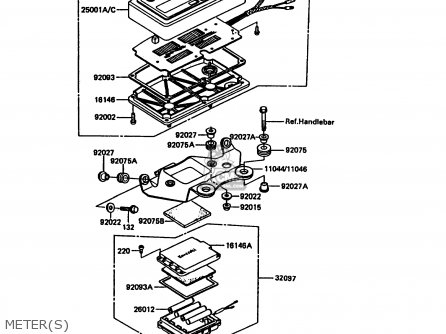 Kawasaki KDX200-C2 1987 UNITED KINGDOM AL parts lists and