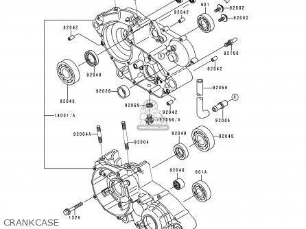 Kawasaki Kdx 200 Engine Parts Diagram Kawasaki KMX 125