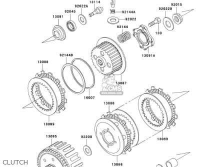 Kawasaki Kdx200-h8 Kdx200 2002 parts list partsmanual