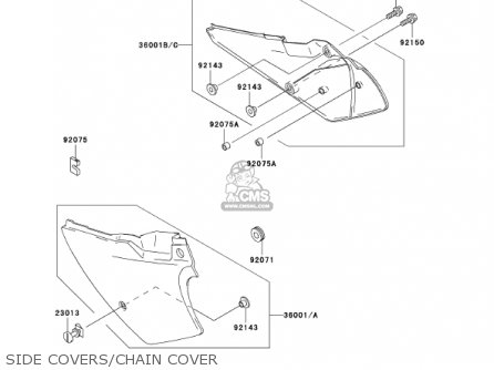 Kawasaki KDX200-H8 KDX200 2002 parts lists and schematics