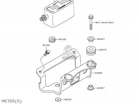 Kawasaki Kdx250-d4 1994 Al parts list partsmanual partsfiche