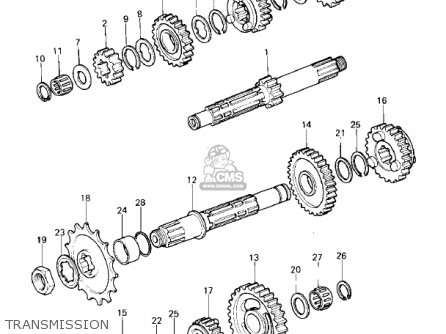Kawasaki KDX400-A1 KDX400 1979 USA CANADA parts lists and