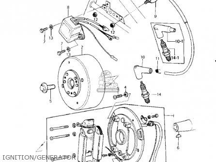 Kawasaki Kdx400-a2 Kdx400 1980 Usa Canada parts list
