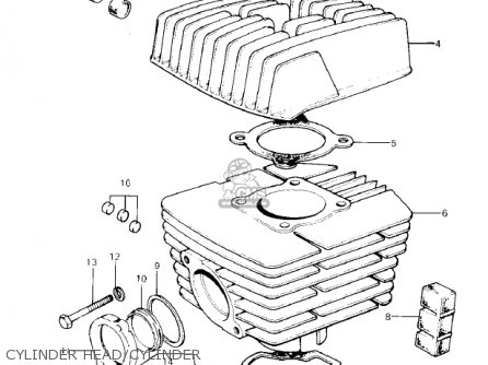 Kawasaki Ke100-a7 Ke100 1978 Canada parts list partsmanual