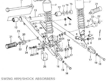 Kawasaki Ke100-a9 Ke100 1980 Canada parts list partsmanual