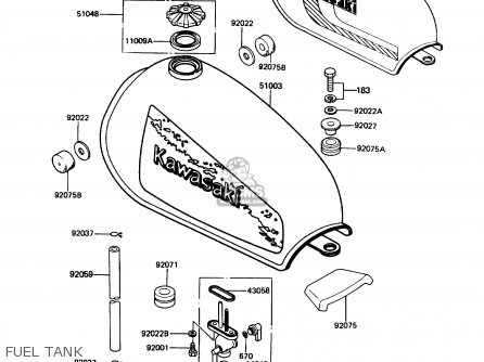Kawasaki Ke100-b7 1988 Usa parts list partsmanual partsfiche