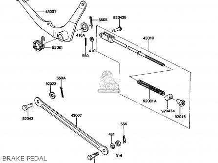 Service manual [1990 Maserati Karif Brake Drum Structure