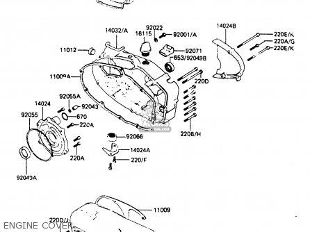 Kawasaki KE100B5 1986 EUROPE UK parts lists and schematics