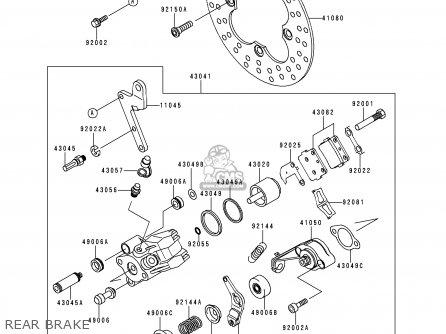 Kawasaki Kef300-a5 Lakota300 1999 Europe parts list