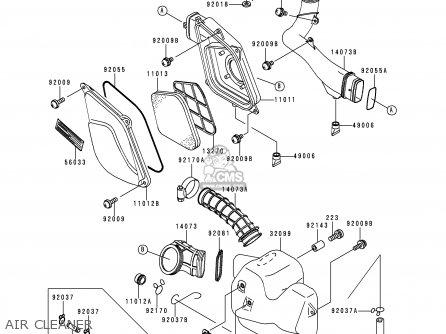 Kawasaki Lakota 300 Motor Kawasaki ATV Wiring Diagram ~ Odicis