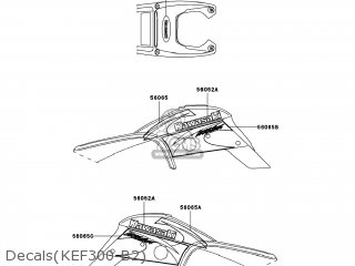Kawasaki KEF300-B2 LAKOTA SPORT 2002 USA parts lists and