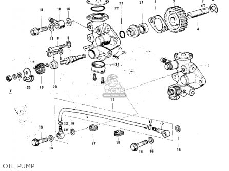 Kawasaki Kh100b7 1976 Canada parts list partsmanual partsfiche