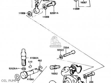 Kawasaki Kh125k3 1984 Usa parts list partsmanual partsfiche