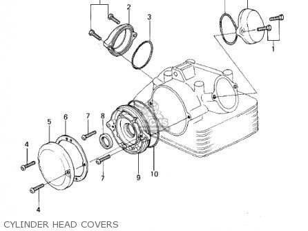 Kawasaki Kl250a1a Klr250 1978 Canada parts list