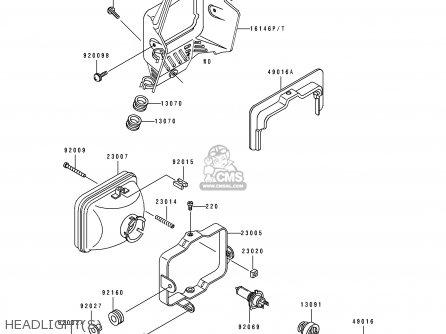 Kawasaki Super Sherpa 250 Wiring Diagram Kawasaki KX 250 2