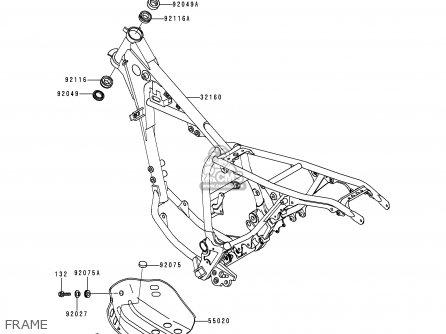 Kawasaki Kl250g4 Super Sherpa 2000 Usa Canada parts list