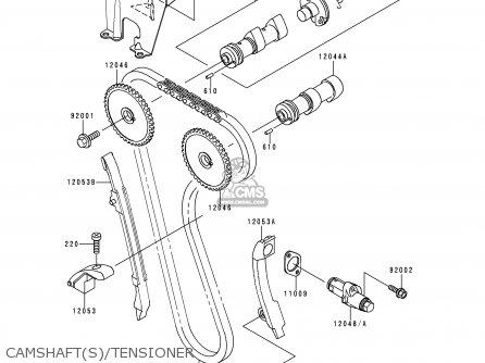 Kawasaki KL650A10 KLR650 1996 USA CALIFORNIA CANADA parts