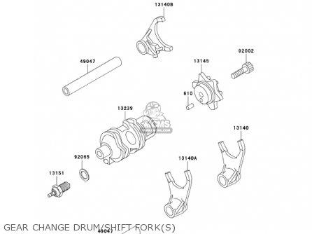 Kawasaki Kl650a16 Klr650 2002 Usa California Canada parts