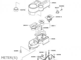 Kawasaki KL650A17 KLR650 2003 USA CALIFORNIA CANADA parts