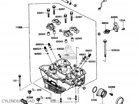 Kawasaki KL650A4 KLR650 1990 USA CALIFORNIA CANADA parts