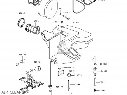 Kawasaki Klr650 Engine Diagram CMSNL 1991 ZR750 Clutch