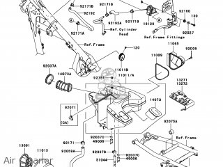 Kawasaki KL650E8F KLR650 2008 USA parts lists and schematics
