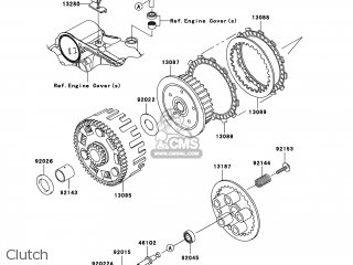Kawasaki Kl650e8f Klr650 2008 Usa parts list partsmanual