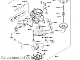 Kawasaki KL650ECF KLR650 2012 USA parts lists and schematics