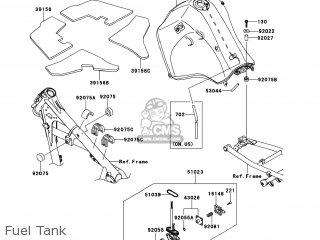 Kawasaki Kl650ecf Klr650 2012 Usa parts list partsmanual