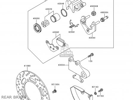 Kawasaki Kle500a8 1998 Sweden parts list partsmanual