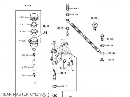 Kawasaki KLE500A8 1998 SWEDEN parts lists and schematics