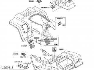 Kawasaki Klf220-a15 Bayou220 2002 Usa parts list