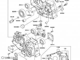 Kawasaki KLF250-A6F BAYOU250 2006 USA parts lists and