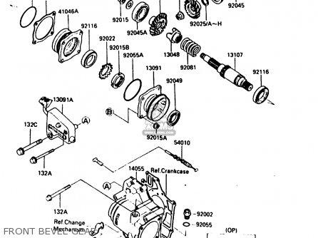 Kawasaki Bayou Klf300 Wiring Diagram. Kawasaki. Wiring