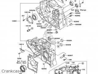 Kawasaki KLF300-B15 BAYOU300 2002 USA parts lists and