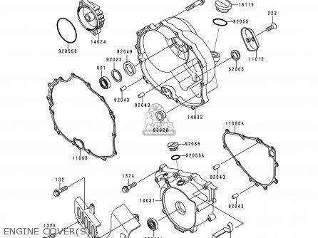 Kawasaki KLF300-C1 BAYOU3004X4 1989 USA CANADA parts lists