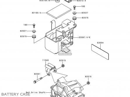 Kawasaki Klf300-c10 Bayou3004x4 1998 Usa California Canada
