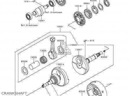 Kawasaki KLF300-C12 KLF3004X4 2000 EUROPE UK AS parts