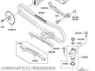 Kawasaki KLX110-A4 2005 EUROPE parts lists and schematics