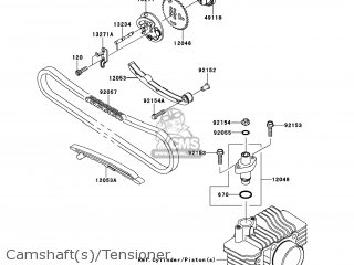 Kawasaki KLX110-DEF KLX110L 2014 USA parts lists and