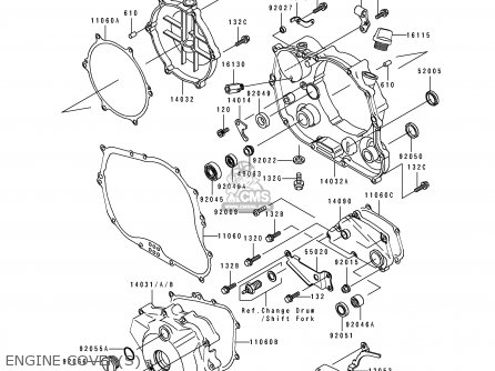 Kawasaki KLX250E1 1993 NETHERLANDS AR FG GR IT NR ST parts