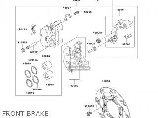 Kawasaki KLX250H6F KLX250S 2006 USA CANADA parts lists and